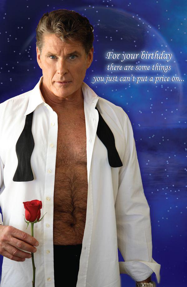 David Hasselhoff Birthday Card – gangcraft.net