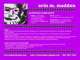 Emadden info